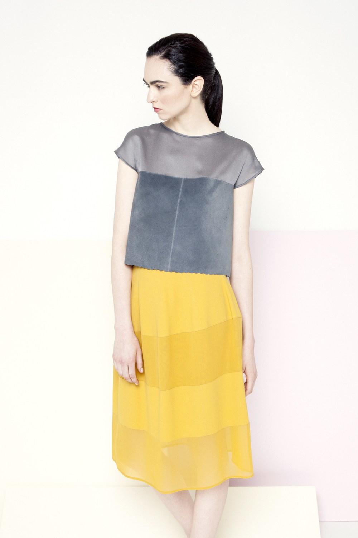 Piper Skirt /// Sunflower Yellow