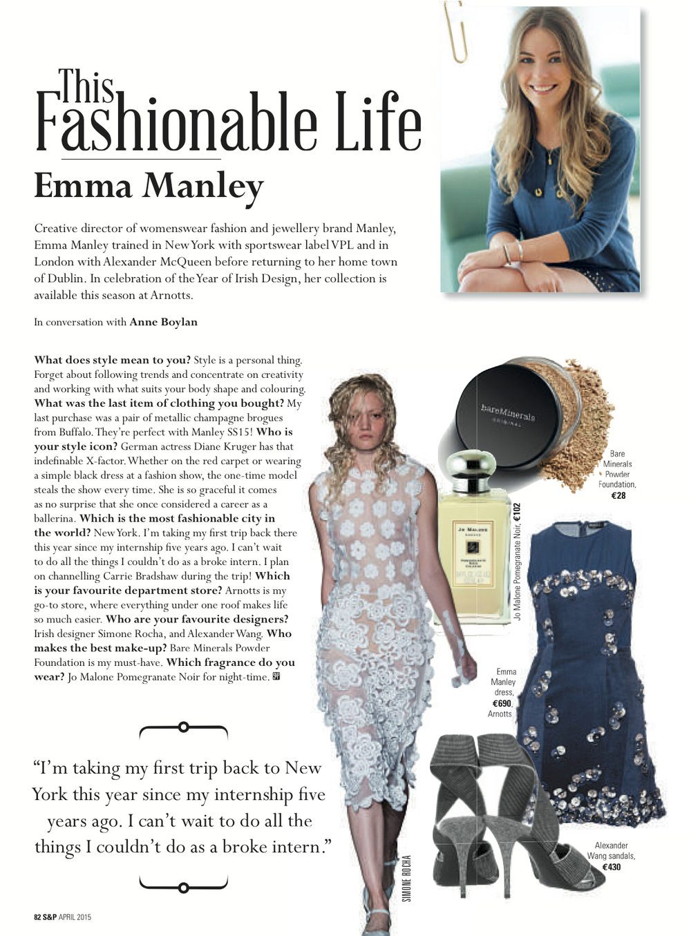 Social & Personal 'My Fashionable Life' - April 2015.jpg