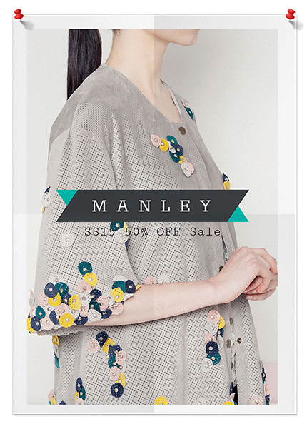 Manley SS15 Sale Poster