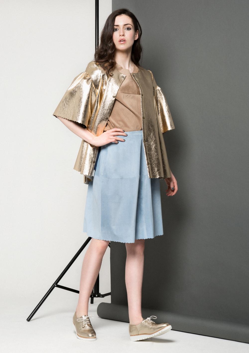 Maya Bubble Coat /// Gold