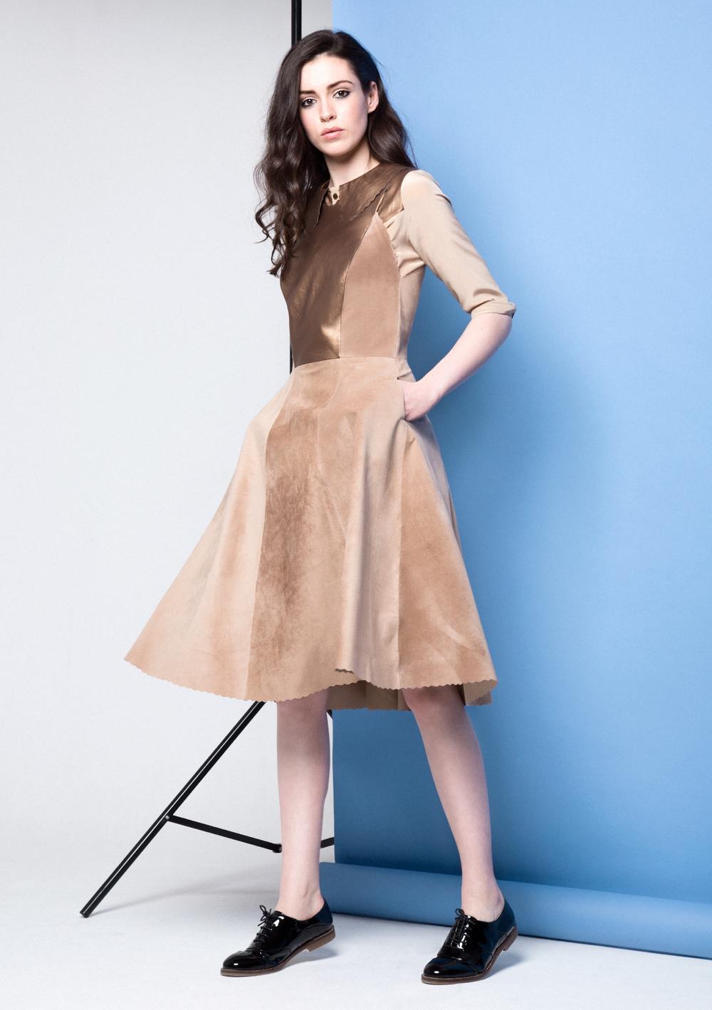 Carly Dress /// Gold