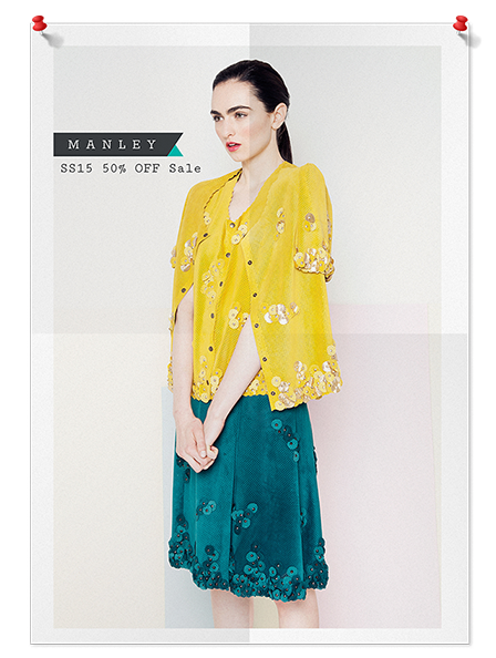 Manley Spring Summer 2015 Sale