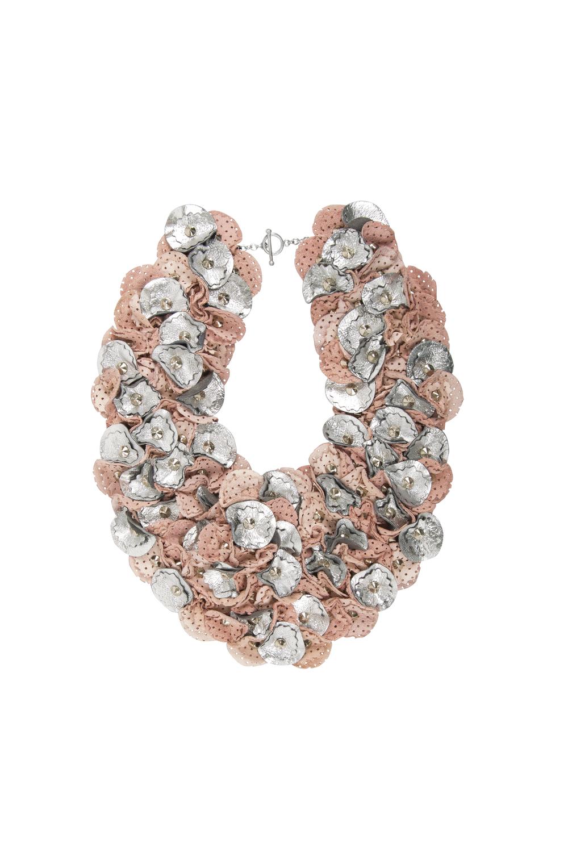 Piper Metallic Collar /// Pink
