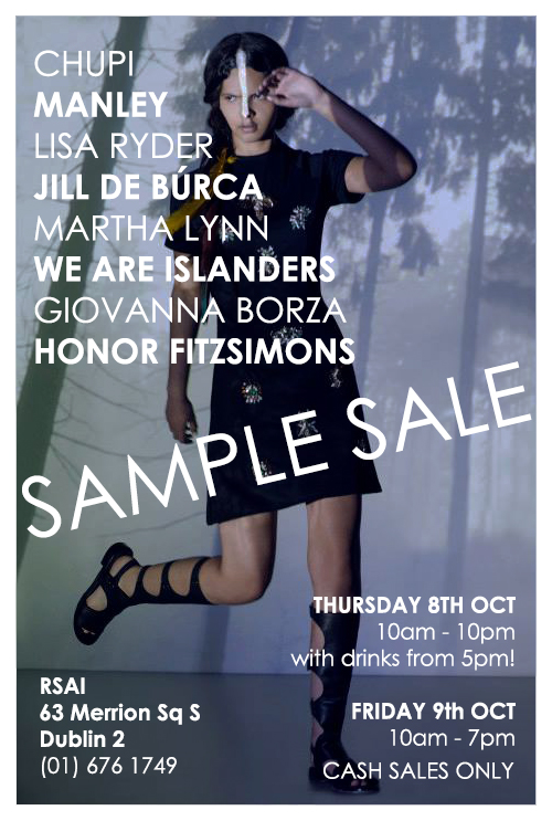 Irish Designers Sample Sale