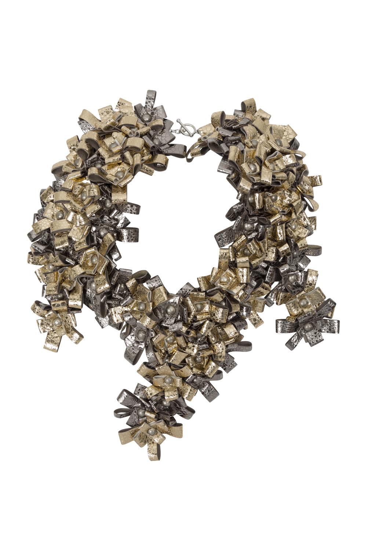 Maya Necklace /// Silver & Gold