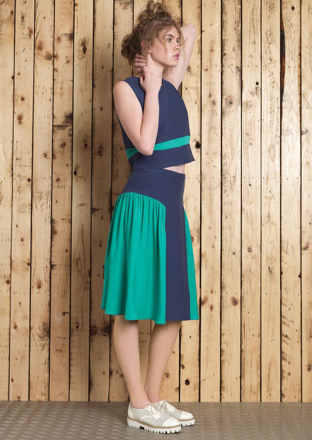 Lana Crop // Cori Skirt