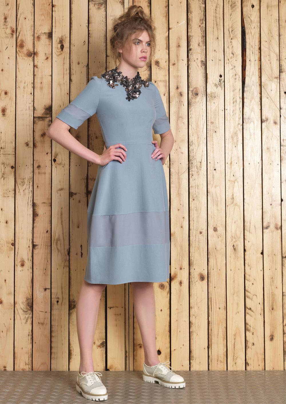 Maya Necklace // Lana Dress