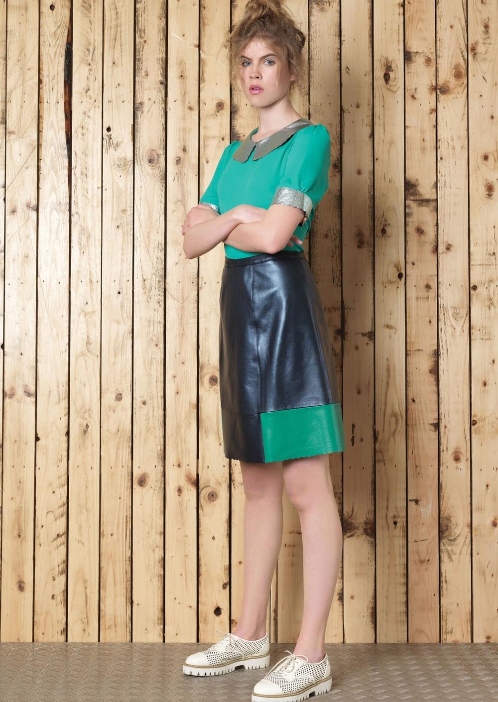 Cori Tee // Boxter Skirt