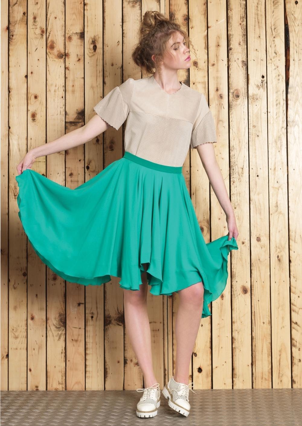 Erin Tee // Cara Skirt