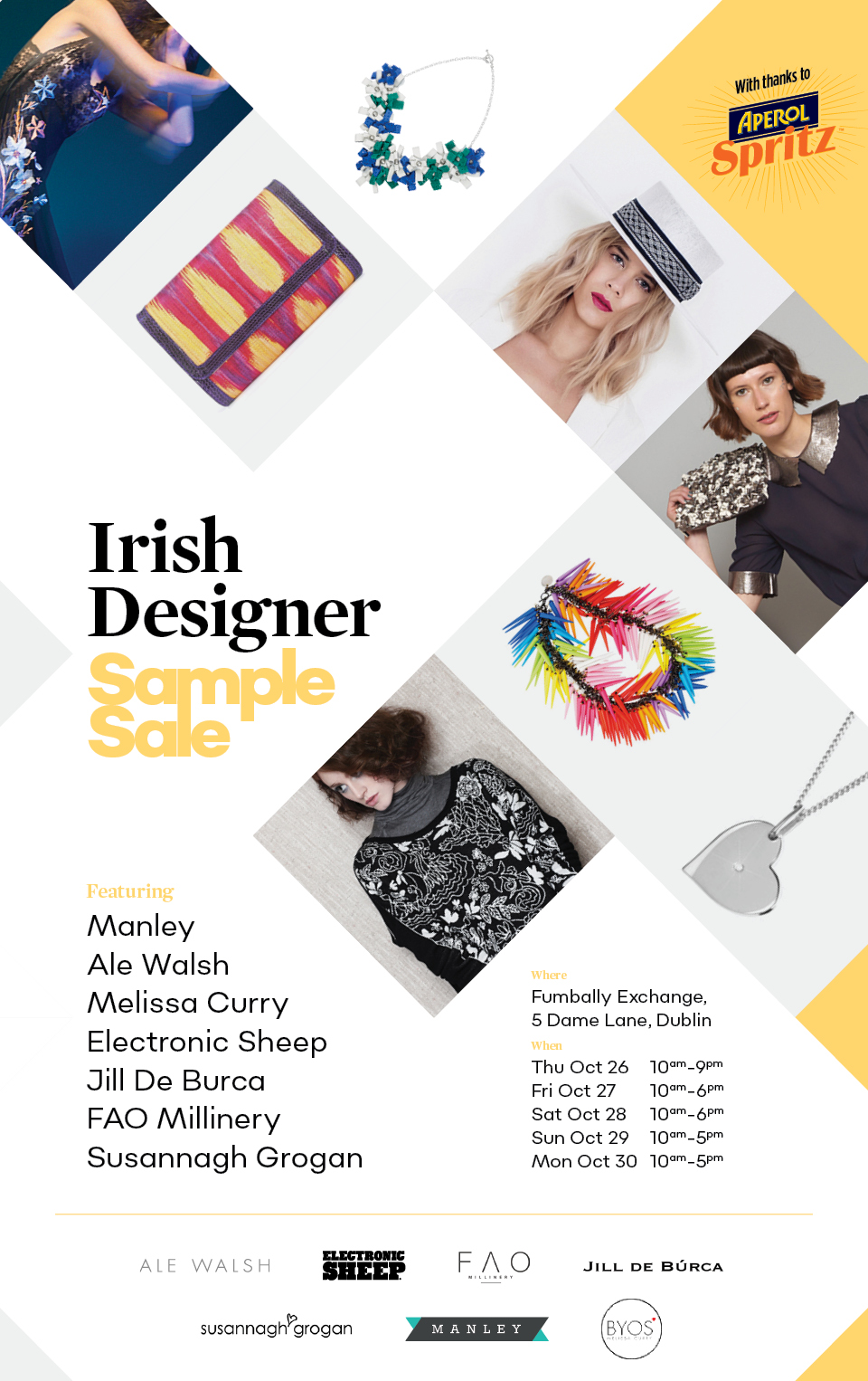 Irish Designer Sample Sale Dublin