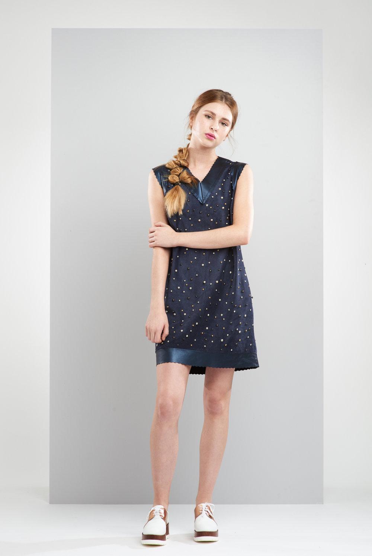 ManleyAW17 - Willow Studded Dress - Navy €450 LR 2.jpg