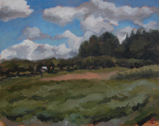 Lawrence Farm, Oil on Canvas, 2012.