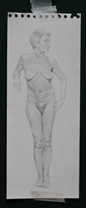 """Maria Virginia"" Pencil on Paper, 2013"