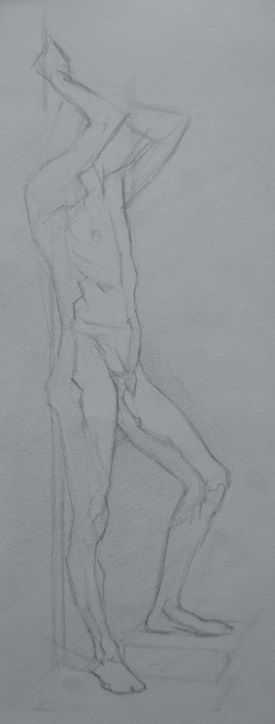 carlo, pencil on paper, 2012