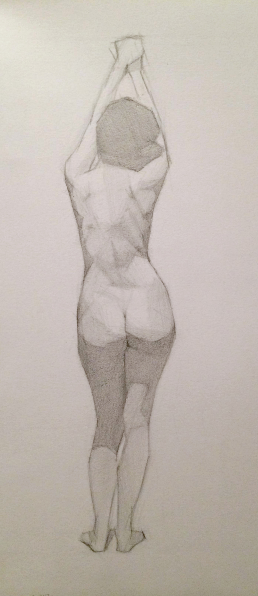 laura, pencil on paper, 2012