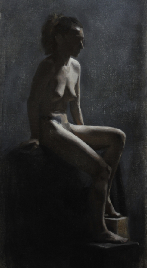 lorraine, oil on linen, 2013