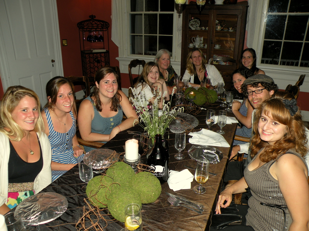 Sustainable Dinner with BTC Students and Lisa Kelley at the Brome-Howard.JPG