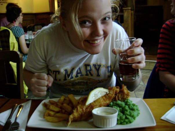 Lisa & Fish n Chips.jpg