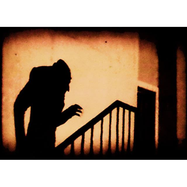 From  Nosferatu  , directed by F. W. Murnau.    1922.