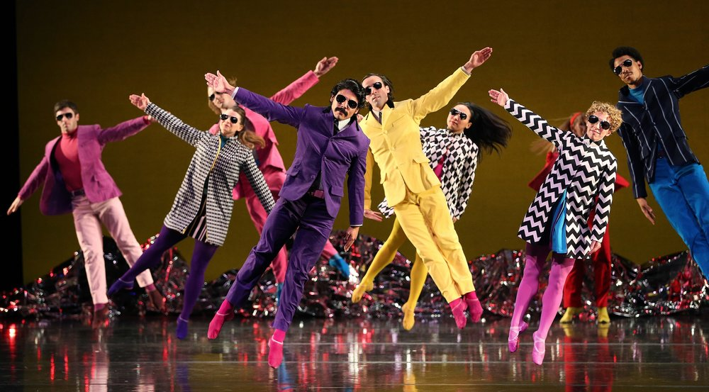 Dance Consortium presents Mark Morris Dance Group in 'Pepperland' UK & Ireland 2019 (photo by Gareth Jones)