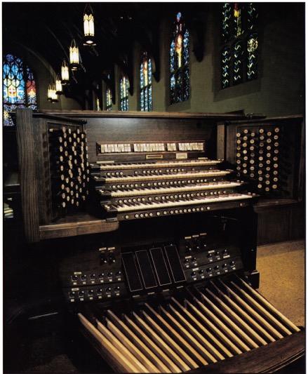 Forrest Memorial Pipe Organ
