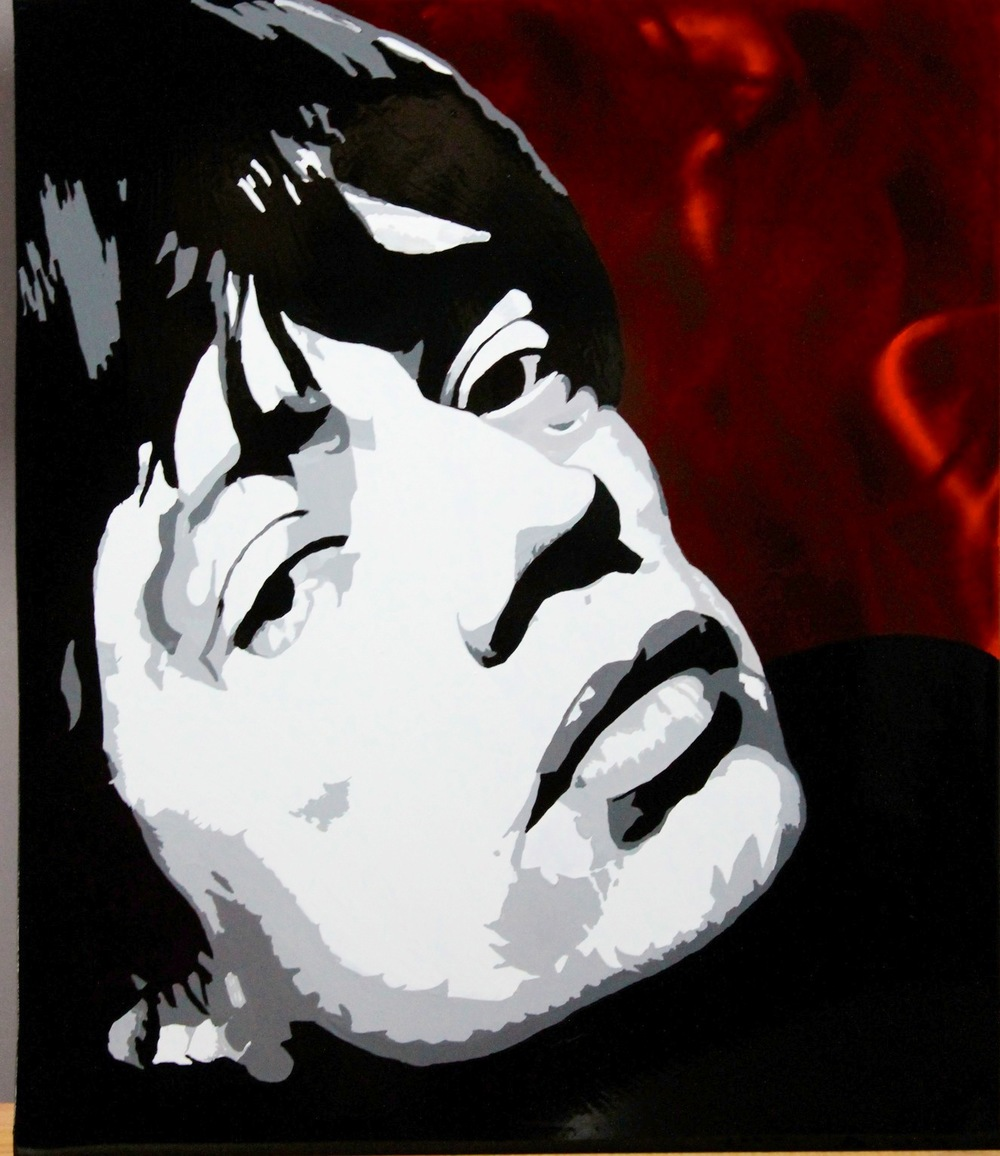 Mick Jagger - Painted