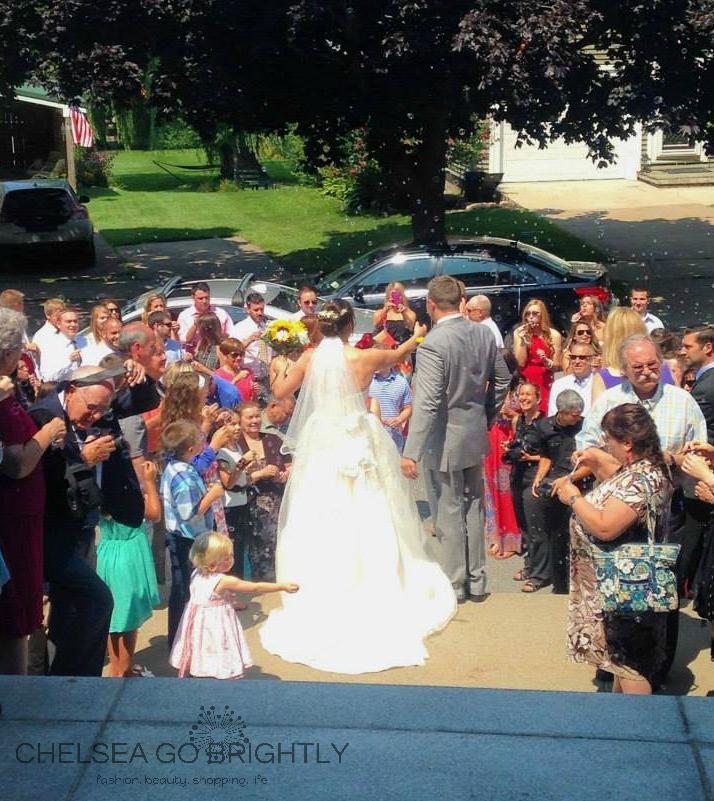Dan and Erin's beautiful wedding. (Photo Credit - Callie)