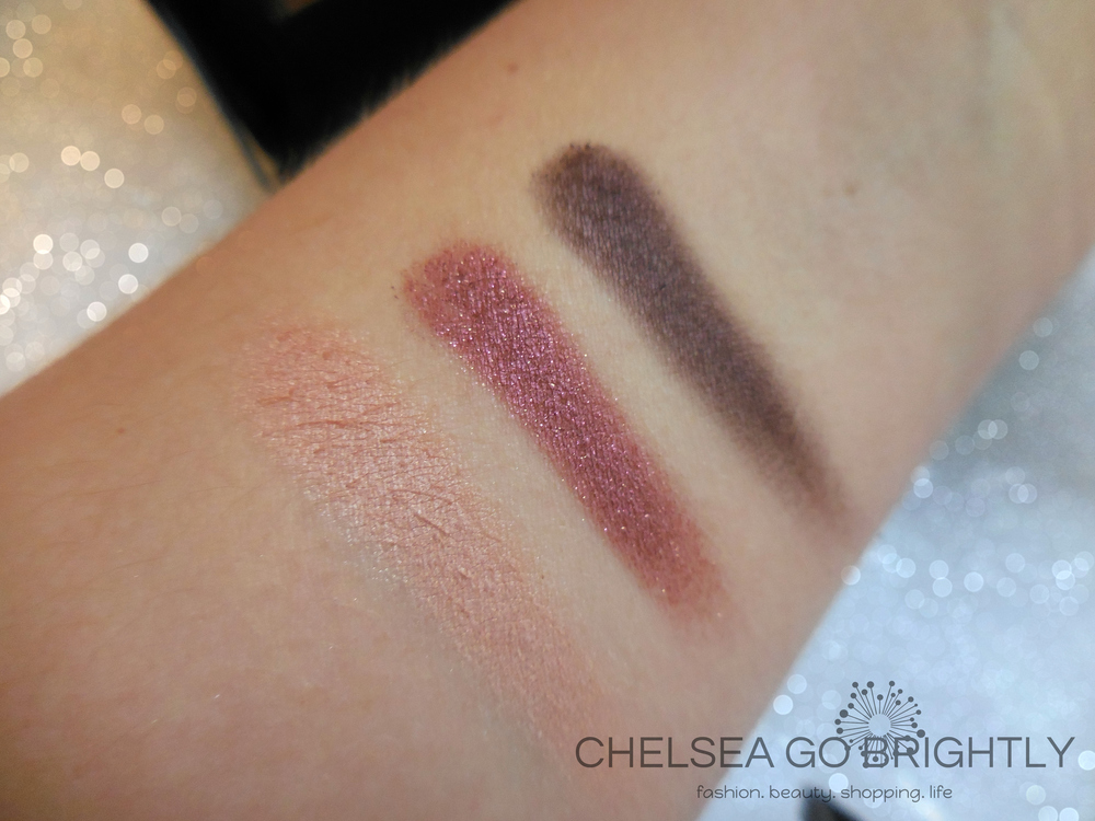Chic shades: I-524, D-826, and ME-828