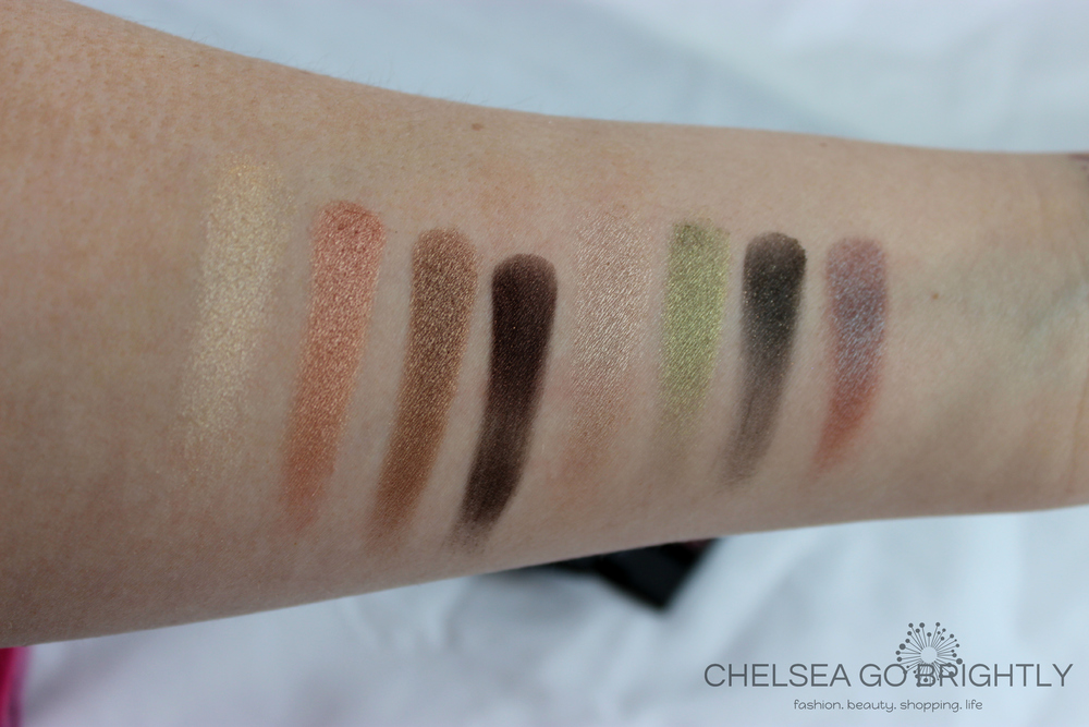 Swatches of Comfort Zone