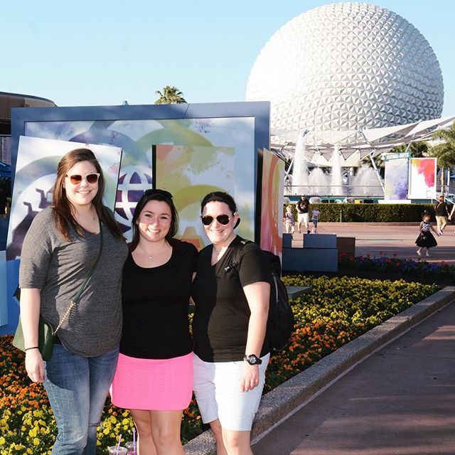 #tbt to yesterday when Disney was more important than work. 💙 @clairenikita @aat0405