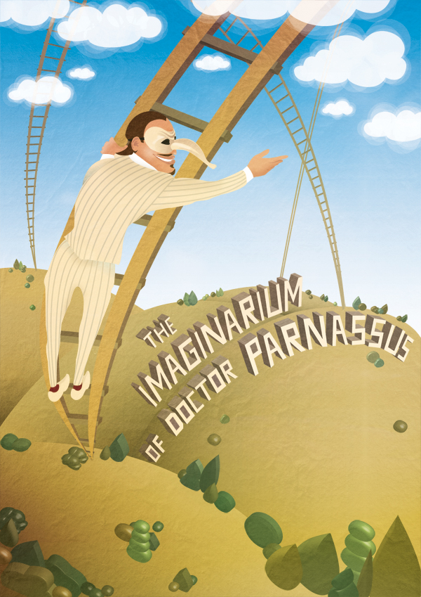 Alternate DVD cover for The Imaginarium of Doctor Parnassus  Digital