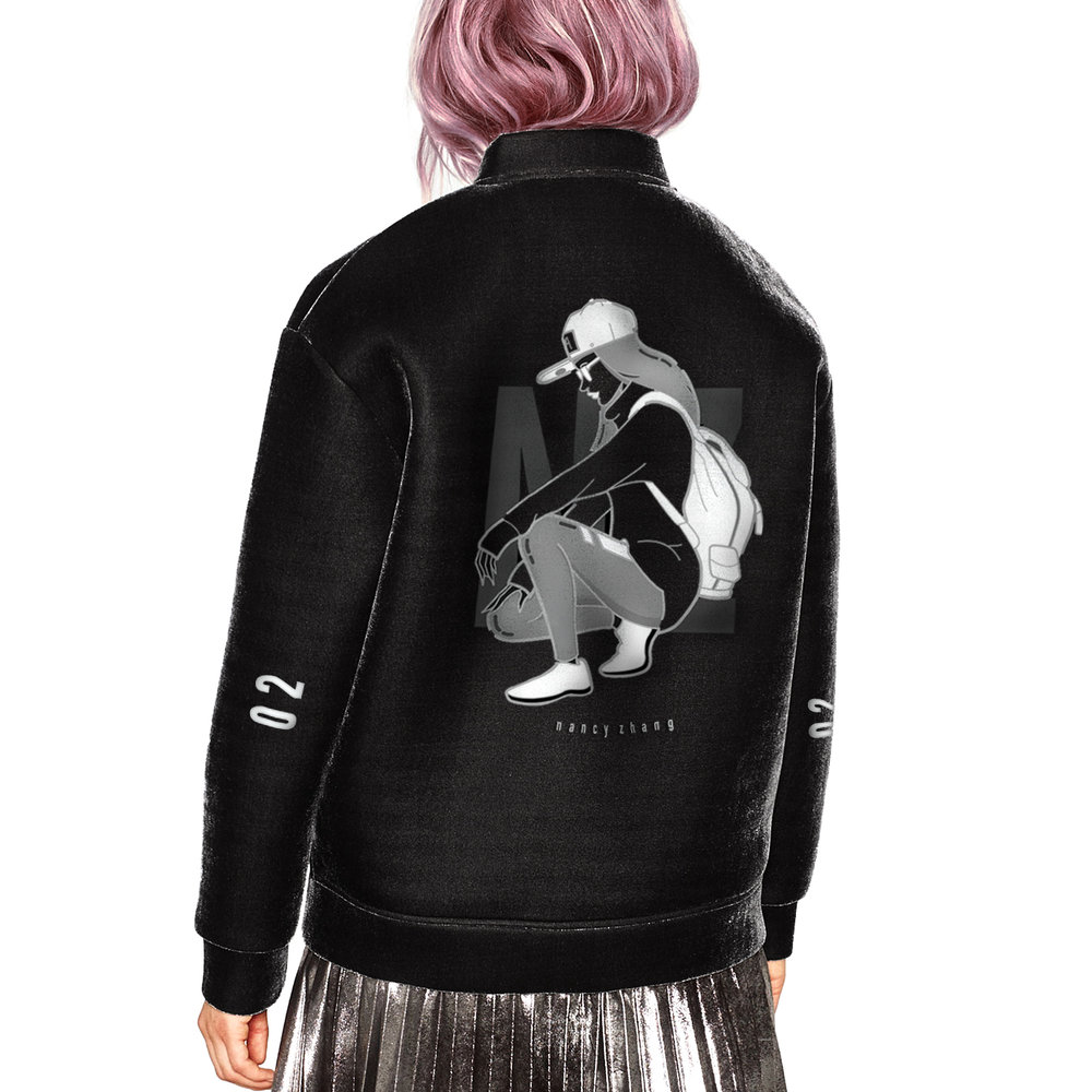 Bomber jacket design