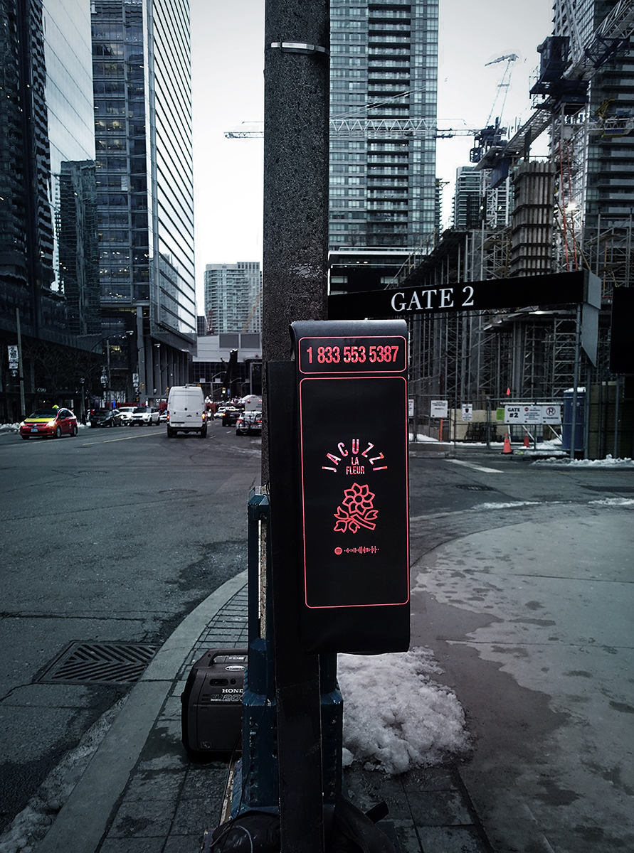 Payphone on site