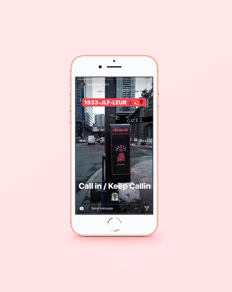 Image shared on @JazzCartier's Instagram story