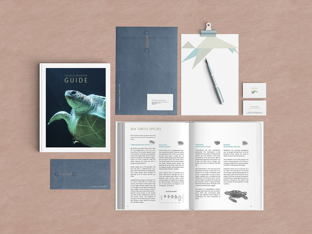 Conservation guide and brand stationaries