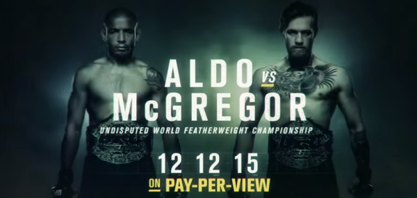 Song in UFC Aldo McGregor Fight ITS ABOUT TIME