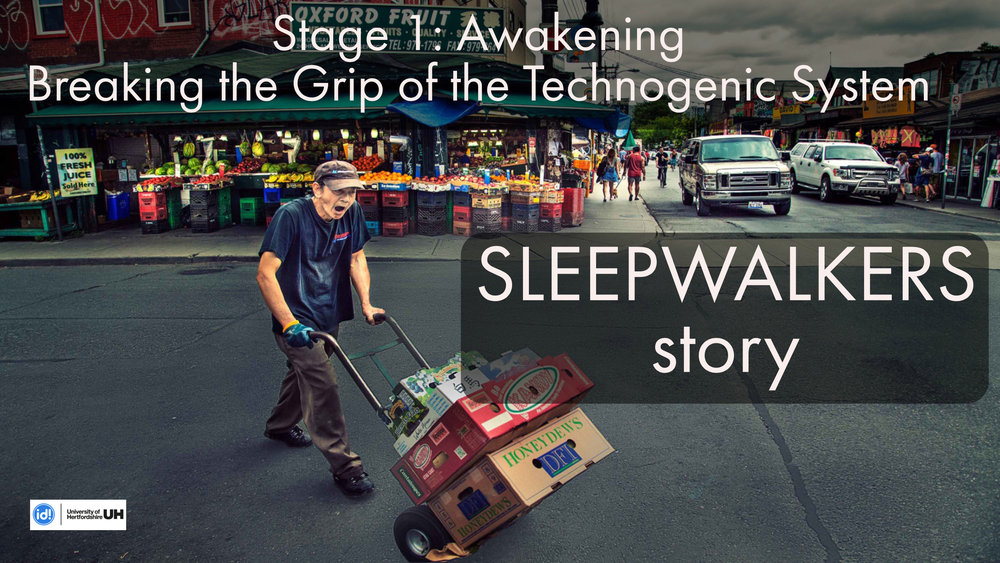 Sleepwalkers  story was my Major Degree Project for the BA (Hons) Photography at the  Interactive Design Institute , University of Hertfordshire, UK.