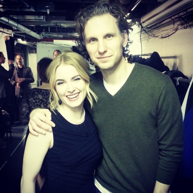 "Backstage with Sebastian Arcelus (""Elf,"" ""House of Cards"")"