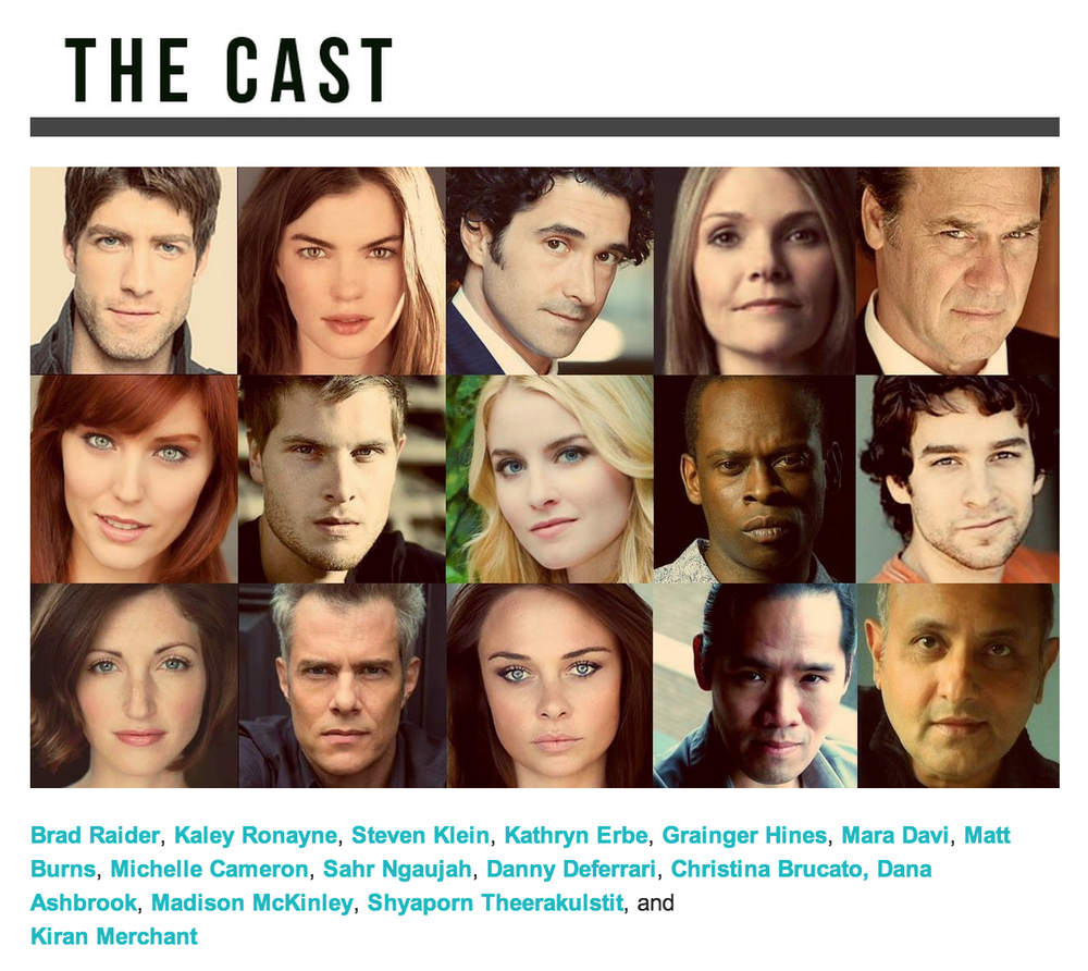 "The core cast of ""Kensho at the Bedfellow."""