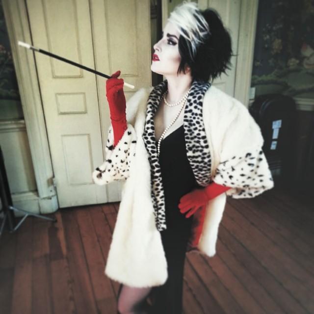 Cruella feels like a second skin...