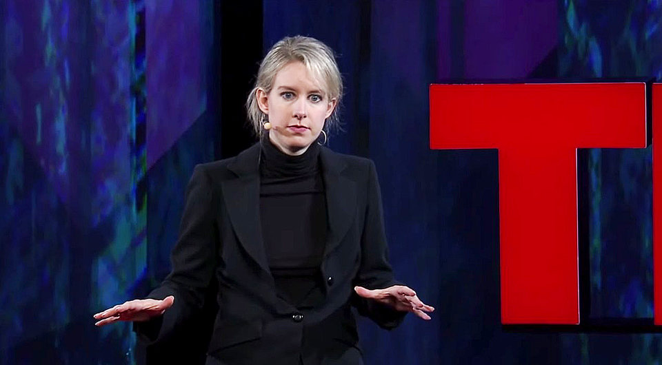 Elizabeth Holmes at TedMed. TED/Screenshot