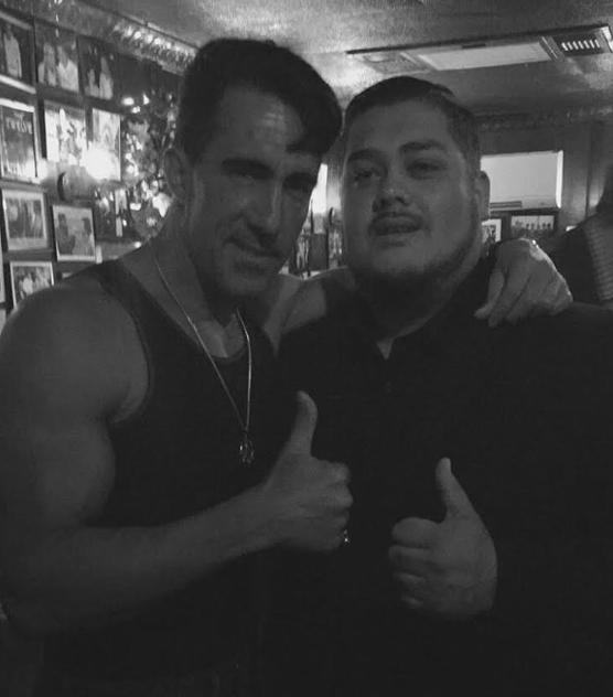 "Andrade with Colombo capo Joey ""Cupcakes"" Urgitano"