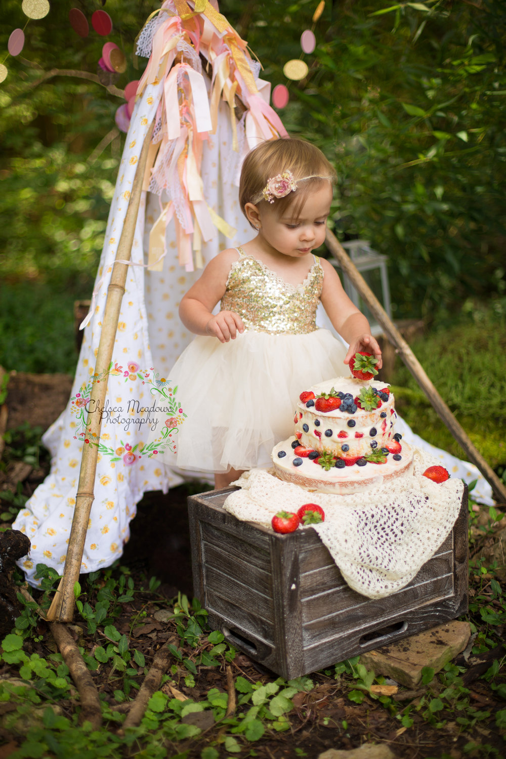 Paisley First Birthay Cake Smash - Nashville Family Photographer - Chelsea Meadows Photography (18).jpg