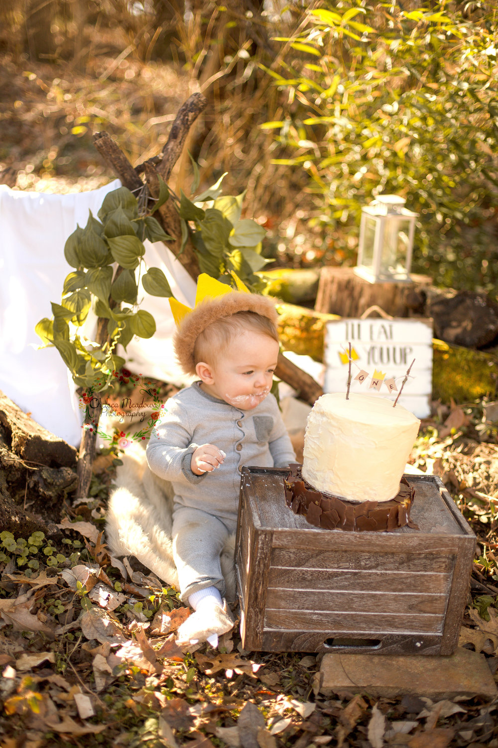Matteo First Birthday Cake Smash - Nashville Family Photographer - Chelsea Meadows Photography (83).jpg