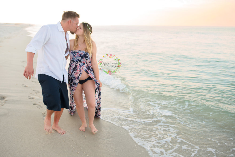Nicole & Drew Beach Maternity - Nashville Maternity Photography - Chelsea Meadows Photography (102).jpg