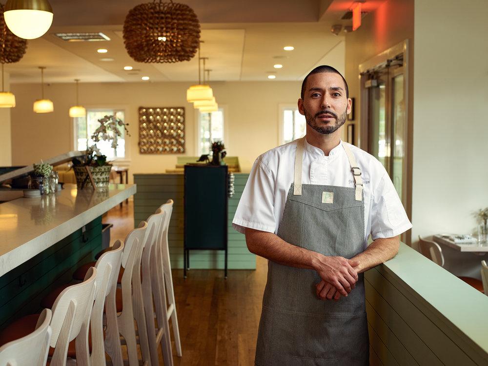 Chef James Moran