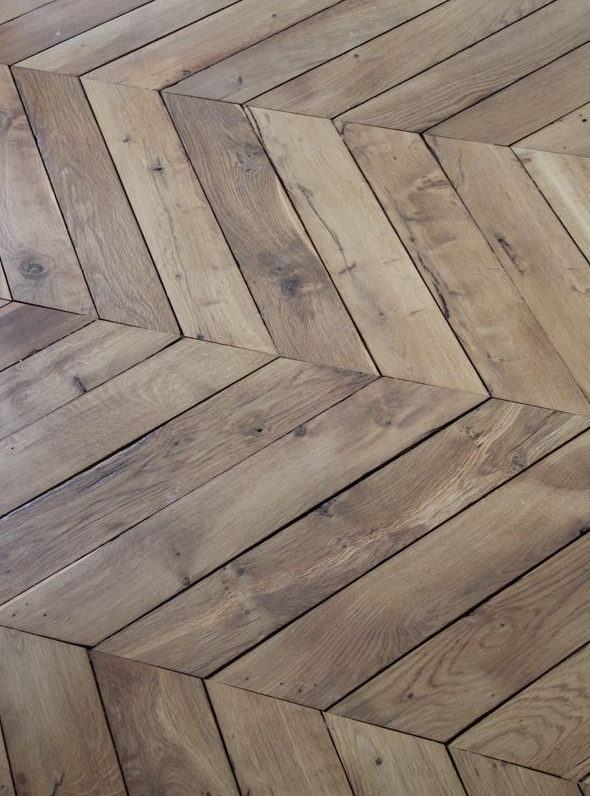 chevron wood flooring