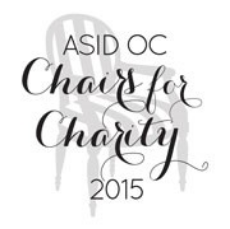 Chairs for Charity ASID Orange County 2015