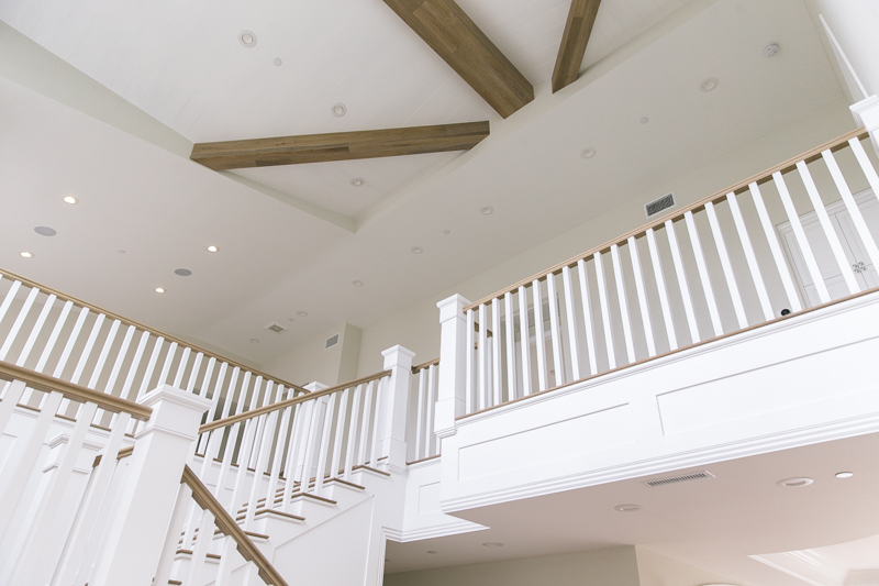 Custom Staircase and Ceiling