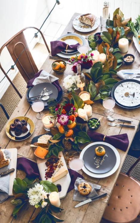 Sérendipité & Autumn Table Settings u0026 Etiquettes u2014 Serendipite Designs